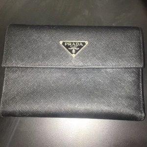 Authentic Prada Saffiano Leather Wallet